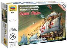 Zvezda 1/350 scale SANTA MARIA ship model kit