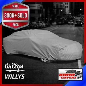 WILLYS [OUTDOOR] CAR COVER ✅ All Weatherproof ✅ 100% Full Warranty ✅CUSTOM ✅ FIT