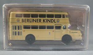 BREKINA 61201 (H0,1:87)  IFA Do 56 Doppelstockbus BVG Berlin/Berliner Kindl