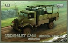 CHEVROLET C30A STEEL BODY (CANADIAN BUILT BRITISH ARMY TRUCK) 1/35 IBG
