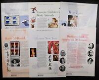 2006 USPS Commemorative Panels. (8 PANELS). PLUS 24 FDOI Souvenir Sets.