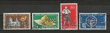 Schweiz Michel-Nr. 607 - 610 gestempelt, Jahresereignisse 1955