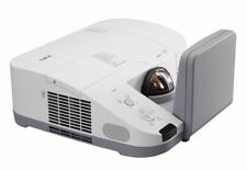U250X NEC 2500 LUMENS HOME CINEMA HDMI ULTRA SHORT THROW PROJECTOR NEW LAMP