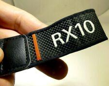 "SONY neck shoulder strap Genuine 1"" 2.5cm wide all black Cyber Shot camera RX10"
