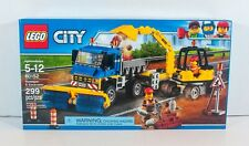 LEGO City SWEEPER + EXCAVATOR 60152 Construction Truck Trailer SEALED Retired