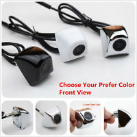 1x High-Definition 170° Front-View Back Up Reverse Camera Waterproof Silver Cam