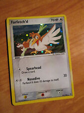 EX SECRET RARE Pokemon FARFETCH'D Card EX EMERALD Set 107/106 Ultra Rare Holo