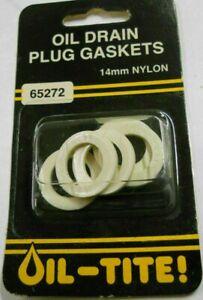 Dorman 65272 14mm Nylon Oil Drain Plug Gasket(s) - Pack of 5