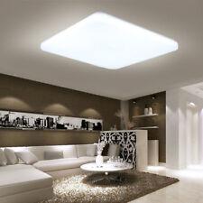 Kaltweiß 24W LED Deckenleuchte Deckenlampe Ultraslim Quadrat Design Wohnzimmer