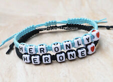 Her Only Her One Couples Bracelet Gay Lesbian Bracelets Personalized Birthday
