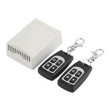 Universal 433.92Mhz. 4 canales Receptor para puerta, puertas de garaje, automatización del hogar