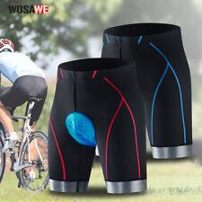 Uomo Pantaloncini da bici ciclismo imbottiti Calzamaglia da bicicletta antiurto