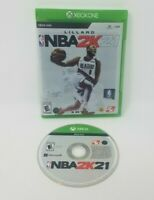 Nba 2k21 Xbox One Game Good Condition Tested and Works!