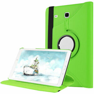 Smart Case Rotating Stand Leather Cover For Samsung Galaxy Tab A A7 S6 S7 Tablet