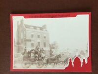 b1v postcard unused royal mail coach and horses at star and garter kew