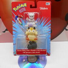 POKEMON SLIDERS 143 Snorlax 52 Meowth 150 Mewtwo 2000 Nintendo Hasbro Vintage NM