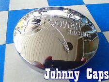 X POWER Wheels [57] CHROME Center Caps # 538880F-2 Custom Wheel Hub Cap (1)