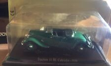 "DIE CAST "" TRACTION 11 BL CABRIOLET - 1938 "" CITROEN ATLAS  1/43"