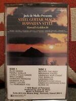 Jack De Mello Presents Steel Guitar  Hawaiian  Style  Cassette  Tape