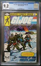 G.I. Joe, A Real American Hero #2 (1982, Marvel) CGC 9.2. 1st print, rare