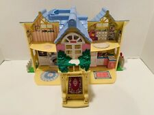 Vintage 2000 Fisher Price Loving Family Sweet Streets Cottage  - Incomplete