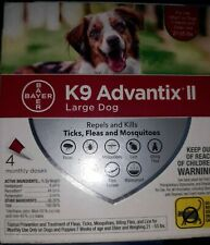 K9 Advantix Ii Large Dog 21-55 Lbs 8 Doses/2 Boxes Of 4 Flea Tick Mosquitoes