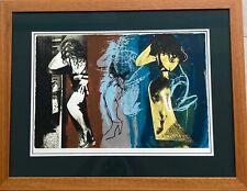 "John Piper CH (1903-1992) ""Stones and Bones XXV"" screenprint 28/50"