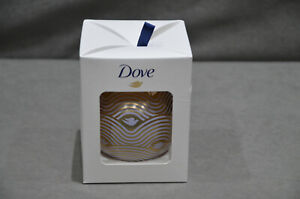 Dove DermaSpa Goodness Christmas Bauble Gift Set Body Cream 75ml Stocking Filler