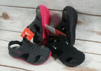 NIKE Toddler Girl's Sunray Protect 2 Sandal Anthracite/ Pink FAST FREE SHIPPING