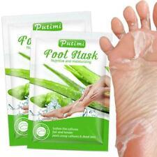 2Pcs Aloe Peeling Fußmaske Dead Skin Peeling Feuchtigkeitsspendende E5G9