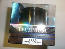 Shimano Technium LENZA DA PESCA 10lb 0.30mm 1250m