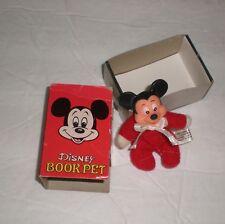 1980's Walt Disney Productoin Book Pet Mickey No.1 w/ Orginial Box (Nmint) Rare