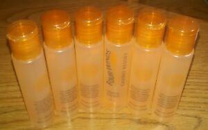 Lot of 6 Cali Cleansing Body Wash Sicilian Blood Oranges Travel Size 30ml/1oz