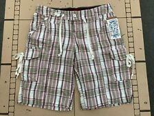 Union Bay Brand Juniors Plaid Shorts Size 3 New With Tags