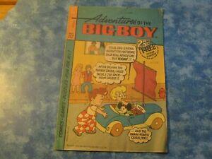 VINTAGE ADVENTURES OF THE BIG BOY Kip's Restaurant Comic