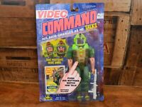 Video Command - Lizard - Action Figure - Toy Island- Sealed on Card - 1992