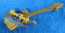 ONLINE ELITE STATUS LIGHTNING BOLT WEBSITE GOLD ICEMAN GUITAR Hard Rock Cafe PIN