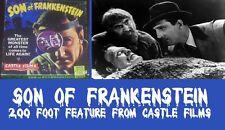 SON OF FRANKENSTEIN 200 FOOT SUPER  8mm CASTLE HORROR HOME MOVIE MONSTER FILM