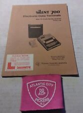 Texas Instruments Electronic Data Terminals 735 Portable Operating Instructions