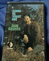 Jack Greene - Lord is That Me - cassette, preowned