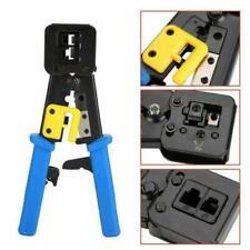 More details for rj45 crimping tool ratchet crimper ez pass through cat5/5e cat6 rj11 cable ends