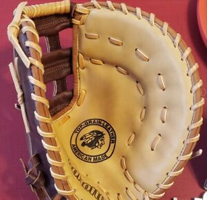 Nokona AMGFB First Base Baseball Mitt 12.50 inch RHT NEW without tags made in US