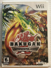 Bakugan Defenders of the Core (Nintendo Wii, 2010, Cib, Ntsc) Canadian