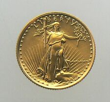 1986 MCMLXXXVI 1/10 oz $5 Gold American Eagle Coin