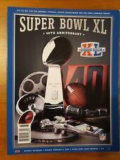 Super Bowl XL NFL Programme - Seahawks v Steelers US Edition