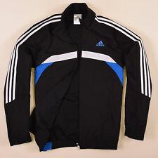 Adidas Herren Jacke Jacket Gr.6 (M) Trainingsjacke Windjacke Schwarz 75291