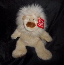 "12"" VINTAGE GUND CASANOVA BABY BROWN LION STUFFED ANIMAL PLUSH TOY W/ TAG 2720"