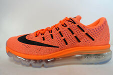 NIKE WOMEN'S AIR MAX 2016 SHOES SIZE 7.5 hyper orange black sunset 806772 800