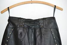NEW Harley Davidson Womens Leather Pants Motorcycle Riding Pants Size 2 NEW
