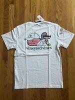 NWT Men's Vineyard Vines Tennis 🎾 Pro Whale Pocket T-Shirt Small Or Medium